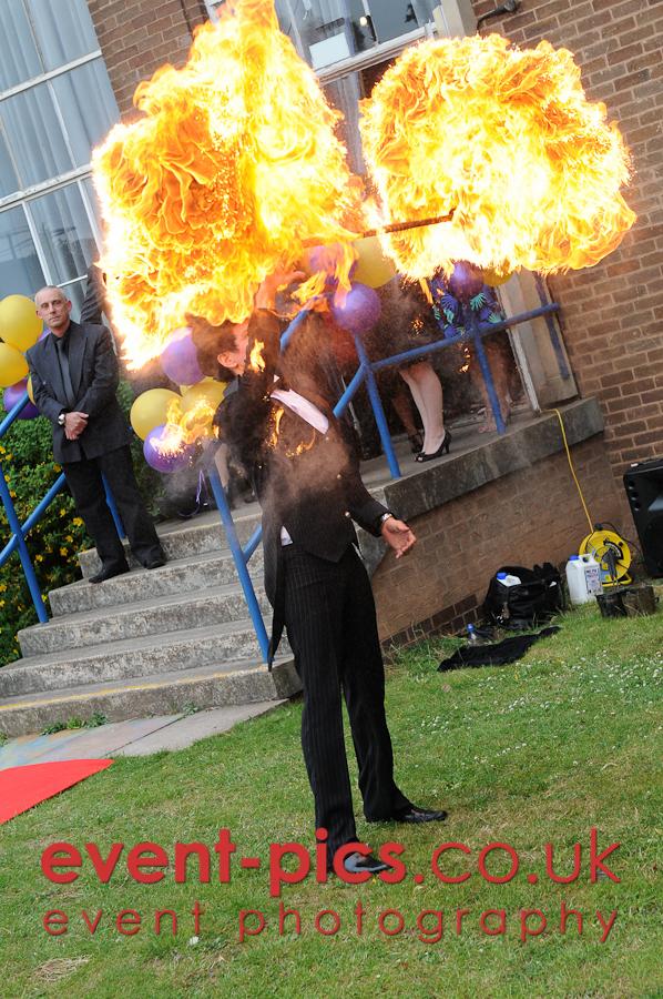 Fireater, Stonehill High School, Birstall, 2010